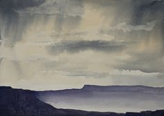 Canyonlands National Park Watercolor by LetsAllMakeBelieve on Etsy