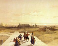 David Roberts - The Ruins Of Karnak At Sunrise.jpg