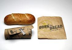 Born And Bread by Lori Novak, via Behance