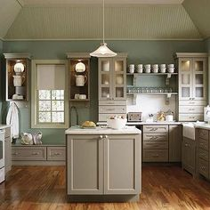 Martha Stewart Kitchen Cabinets, Cottage, kitchen, Martha Stewart