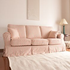 country sofa  アメリカンカントリーカバーリングソファA型3人掛け/裾ストレートタイプ/CF260-48286生地使用