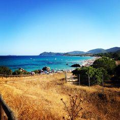 A beautiful beach on the south of Sardinia.
