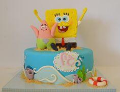 Sponge Bob cake - Matokilicious