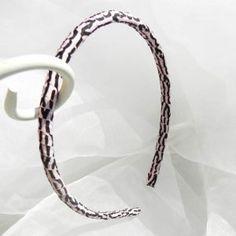 $1.00 #tiger #print #ribbon #wrapped #headband #teamsellit #boebot
