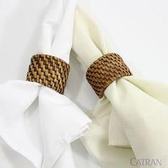 Porta Guardanapo Rattan Priori - Copa & Cia. O Rattan é um material muito versátil, requintado e resistente.