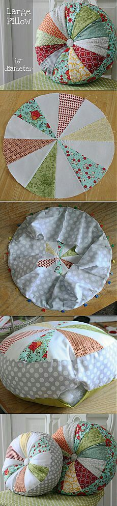 Super Ideas For Sewing Pillows Patchwork Ideas Sewing Pillows, Diy Pillows, Throw Pillows, Fabric Crafts, Sewing Crafts, Sewing Projects, Techniques Couture, Sewing Techniques, Sewing Hacks