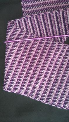 Futur snood en laine en trois couleurs