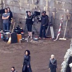 Filming for Game of Thrones in Northern Spain