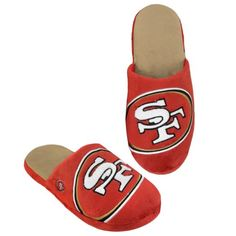 Collectibles Men s San Francisco Big Logo Slippers Men - Sports Fan Shop By  Lids - Macy s 6165ded9eeb