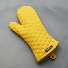 Yellow Oven Mitt | Crate and Barrel