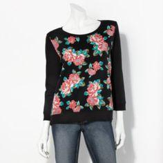 Princess Vera Wang Floral Sweatshirt - Juniors #Kohls