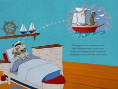 Celeste du Preez Illustration   Portfolio of illustrator Celeste du preez Tiny Trailers, Sailor, Goats, Illustrator, Ocean, The Ocean, Illustrators, Sea, Goat