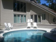 Harbour Town House Rental: Best Family Beach Home-just Steps To Ocean & Beach Club | HomeAway Hilton Head 6+5 350.00