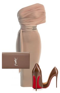 featuring Yves Saint Laurent, Christian Louboutin, Chanel and Classy Outfits, Stylish Outfits, Look Fashion, Womens Fashion, Fashion Trends, Fashion Beauty, Fashion Tips, Mode Glamour, Elegantes Outfit