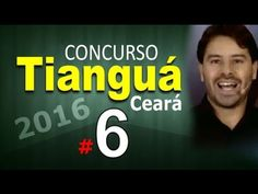 Concurso Tianguá CE 2016 Ceará Informática # 6 - Cargos nível médio comp...