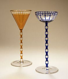 Wine Glasses Wiener Werkstätte, 1908 The Los Angeles County Museum of Art