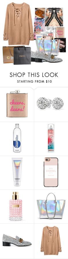 """""""♡no drama -tinashe,offset"""" by alexisportis ❤ liked on Polyvore featuring Neiman Marcus, Bling Jewelry, M.A.C, MAC Cosmetics, Casetify, Valentino, GUESS, Gucci and Chanel"""