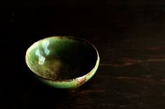 Isao Kimura - looking at it too quickly and it looks like a bubble. Can I have this bowl?