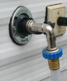 Get a 90* angle fitting to reduce stress on connection @ rig. David's RV Tips - plumbing