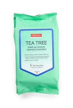 Tea Tree Cleansing Tissues | FOREVER21 PLUS - 1000130234