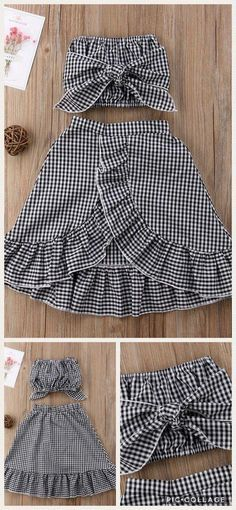 Baby Fashion Toddlers Girl Outfits 26 New Ideas Cute Toddler Girl Clothes, Toddler Girl Outfits, Toddler Fashion, Toddler Dress, Kids Outfits, Kids Fashion, Cute Outfits, Fashion Outfits, Fashion 2016
