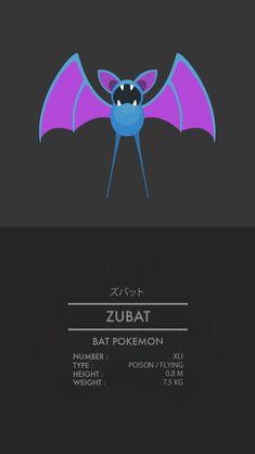 Zubat by WEAPONIX on deviantART