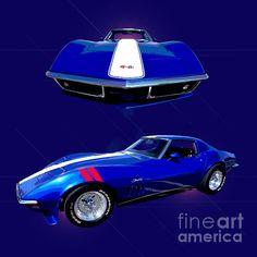 1969 Chevy6 Corvette by Jim Carrell.