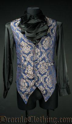 Blue Royal Long Vest
