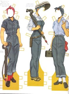 Rob Note:  The overalls on the one in the center are great.  Maybe that's a better way to go than just a jacket?