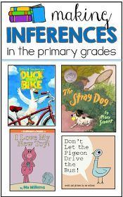 TGIF! - Thank God It's First Grade!: Making Inferences Lessons and some FREEBIES! - repinned by @PediaStaff – Please Visit  ht.ly/63sNt for all our pediatric therapy pins