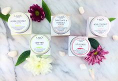 5 luxurious flavours of lip & body butters. all 100% natural/organic. try them now.