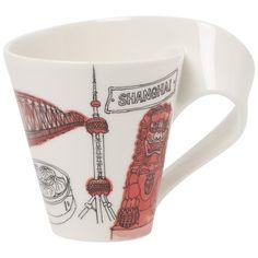 Cities of the World Becher mit Henkel Shanghai