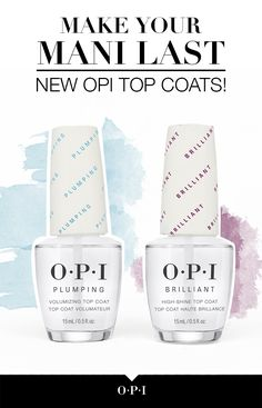 Get the most out of your OPI manicure!