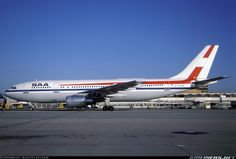 ZS-SDE South African Airways Airbus A300-200 Airplanes, Aircraft, African, History, Vehicles, Planes, Aviation, Historia, Plane