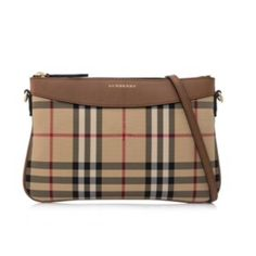 ab8032f1b5ff Burberry Horseferry Check Clutch Tan Cross Body Bag. Get the trendiest  Cross Body Bag of