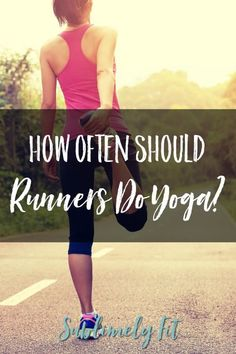 How often should you be practicing yoga to see maximum results? Learn from a yoga teacher running coach! Prenatal Yoga, Restorative Yoga, Yoga Sequences, Yoga Poses, Yoga Fitness, Fitness Tips, Running For Beginners, Running Tips, Yoga For Runners