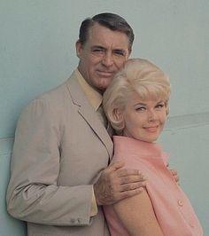 Cary Grant and Doris Day
