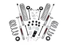 Rough Country Jeep Wrangler in. Suspension Lift Kit w/ Premium Shocks Jeep Wrangler TJ) Jeep Wrangler Lift Kits, Jeep Lift Kits, Jeep Tj, Wrangler Jk, Wrangler Unlimited, Rough Country Suspension, Aftermarket Wheels, Jeep Parts, Jeep Accessories