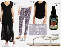 What should women wear in Thailand at night: The Casual Version