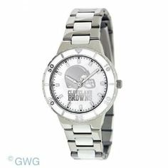 Cleveland Browns Ladies Pearl Series Watch Game Time. $69.95
