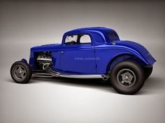 A Garagem Digital de Dan Palatnik | The Digital Garage Project: 1934 Ford Hiboy