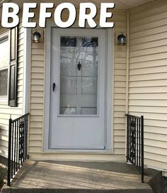 This front door idea takes just 2 hours to do, but it'll make your neighbors smile every time they knock on you door!