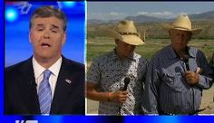 Sean Hannity Claims That He Is The Real Victim of Cliven Bundy's Racist Comments (can you say backpedalling with a vengeance?)