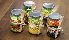 Mason Jar Lunch Inspiration