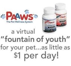 Paaws Dog Vitamins Age16 Years Old Over 60lbs Buy 3 Months Get 3 Months Free >>> Find out more about the great product at the image link.
