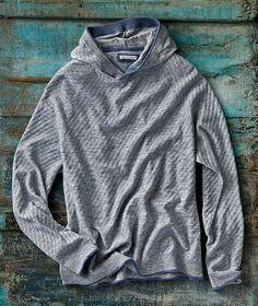 Men's Stylish  contrast slip through Zip raglan sleeve hoodie Size XL