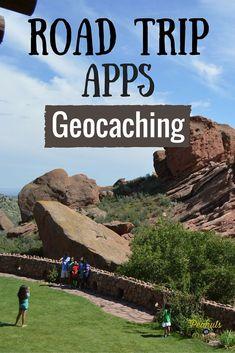 Best Geocaching Road Trip Apps #Geocaching #RoadTrip #Apps #TravelCaching Geocaching
