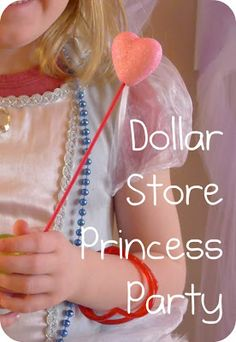Helping Little Hands: Dollar Store Princess Party