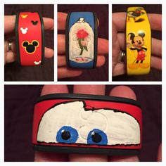 Has anyone decorated their Magic Bands? Please show us the pictures! - Page 197 - The DIS Discussion Forums - DISboards.com