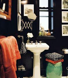 Get The Look: An Eclectic Gentleman's Retreat #interior design #Color